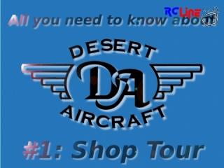Desert Aircraft - Hinter den Kulissen