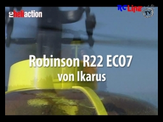 RC-Heli-Action: Robinson R22 ECO7 von Ikarus