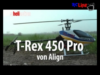 RC-Heli-Action: T-REX 450 Pro von Freakware