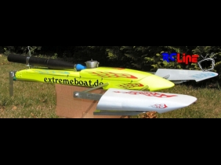 RC Boot Boat Gleitfl�chenboot, Rigger, Outrigger, extremeboat