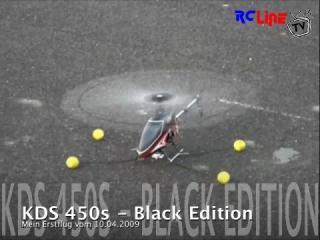 KDS 450 s - Erstflug vom 10.04.2009