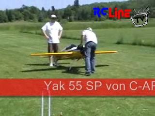 Yak 55 SP auf dem RCLine Usertreffen
