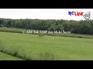 AFTER >: C-ARF Yak 55SP mit Moki Stern
