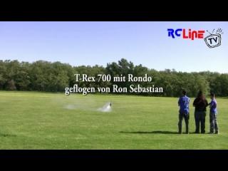 T-Rex 700 mit Rondo auf dem Usertreffen 2009