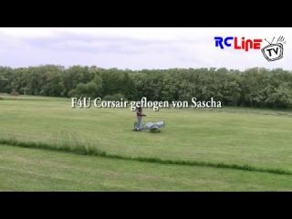 F4U Corsair auf dem Vatertagsfliegen 2009