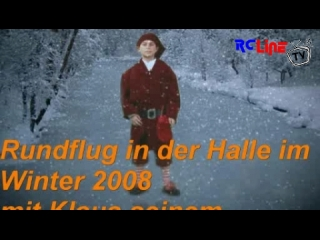 Winterfliegen in der Halle