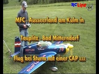 Flug bei Sturm mit einer CAP 222