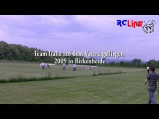 Team Italia auf dem Vatertagsfliegen 2009 in Birkenheide