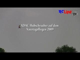 ADAC Hubschrauber auf dem Vatertagsfliegen 2009