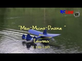 Maxi-Micro-Drake am Eiswoog