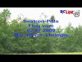 Der n�chste Flug mit der Selitron-Pitts uncl. Horror-Start