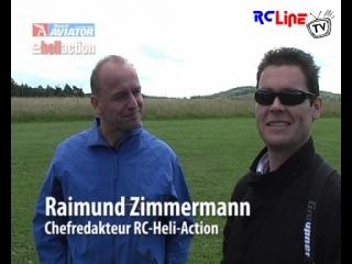 Hinter den Kulissen von Modell AVIATOR und RC-Heli-Action