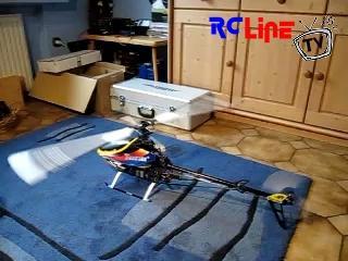 < BEFORE: T-Rex 500 ESP Probelauf im Esszimmer :-)