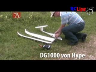 Modell AVIATOR-Test: DG1000 von Hype