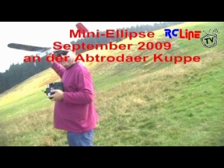 Mini-Ellipse an der Wasserkuppe - Video1