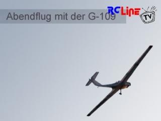 Abendflug mit der G-109
