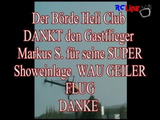 Gastpilot Markus S. beim B�rde Heli Club