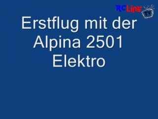 Tangent Alpina 2501 Erstflug