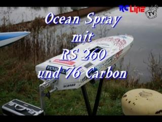 DANACH >: Ocean Spray mit RS 260 Motor