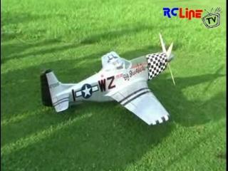 Mustang P-51D mit Wren Turboprop Turbine