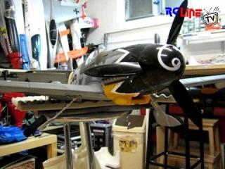 Parkzone Bf 109 mit DSR-30 Einziehfarwerk