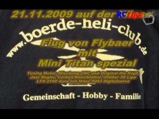 21.11.09 Flybaer mit Minitian Spezial auf dem Fluggel�nde