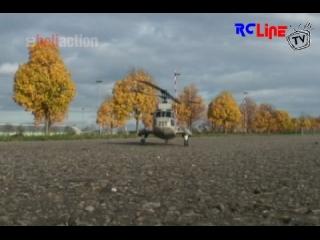 RC-Heli-Action: T-Rex 450 mit Seaking-Rumpfbausatz