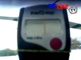 Drehzahlmessen im Flug mit RC200