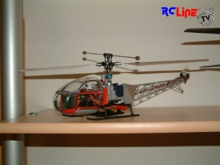 Walkera 5#4 Single Rotor Umbau