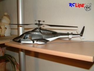 Walkera 5G4Q3 Single Rotor Umbau