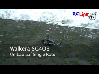 Walkera 5G4Q3 Single Rotor Schneeflug