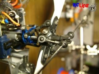 Walkera 5#4 Single Rotor Umbau Detail-Aufnahme