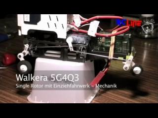Walkera 5G4Q3 Single Rotor Einziehfahrwerk Detail 0