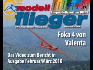 Modellflieger Magazin: Foka 4 von Valenta
