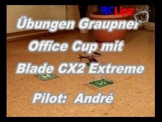 �bungen mit dem Blade CX2