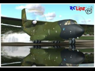 Transall C-160 bei der Landung