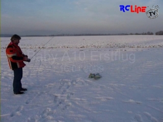 AFTER >: Baby A10 Warzenferkel Erstflug