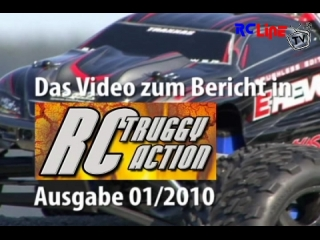 RC-Truggy-Action: Traxxas E-Revo von Multiplex