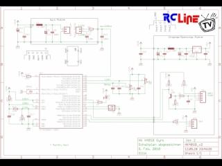 Gyro HK401B: Schaltplan, ver2