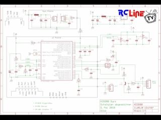 Gyro KDS800: Schaltplan