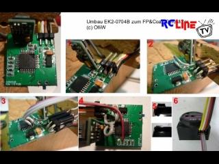 Umbau EK2-0704B zum FP&Koax-GyroMischer