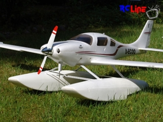 < BEFORE: Depron-Schwimmer f�r Cessna Corvalis