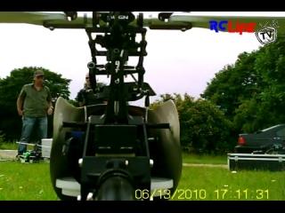 AFTER >: T-Rex 500ESP Cam Flug
