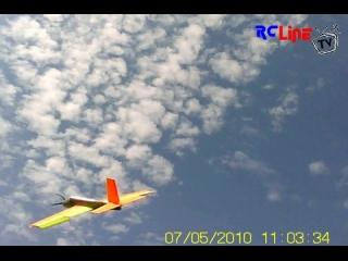 < BEFORE: Depron Flieger Pfeilung flyby