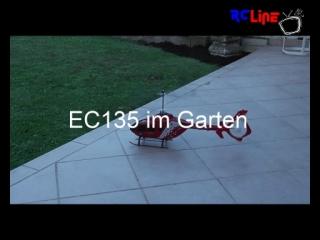 AFTER >: EC135 im Garten
