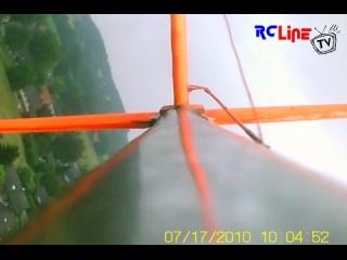 Onboard Cam Blick nach hinten
