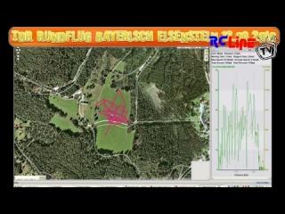 Rundflug TDR mit sch�nen Bildern und fast Absturz