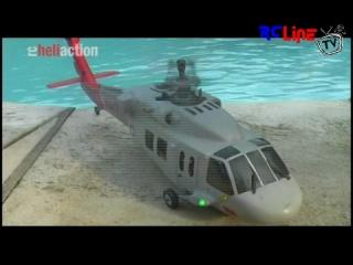 AFTER >: RC-Heli-Action: Kestrel SX 500 im Koax-Rumpf
