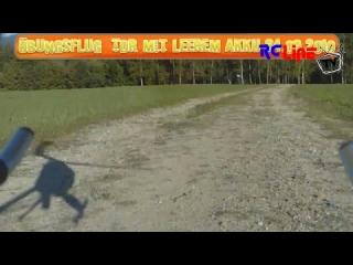 AFTER >: Feierabendflug 24.09.2010 TDR mit fast leerem Akku