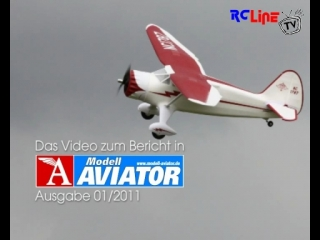 AFTER >: Modell AVIATOR: Stinson Reliant von Horizon Hobby